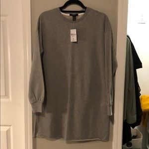 Brand new Forever 21 knit grey dress